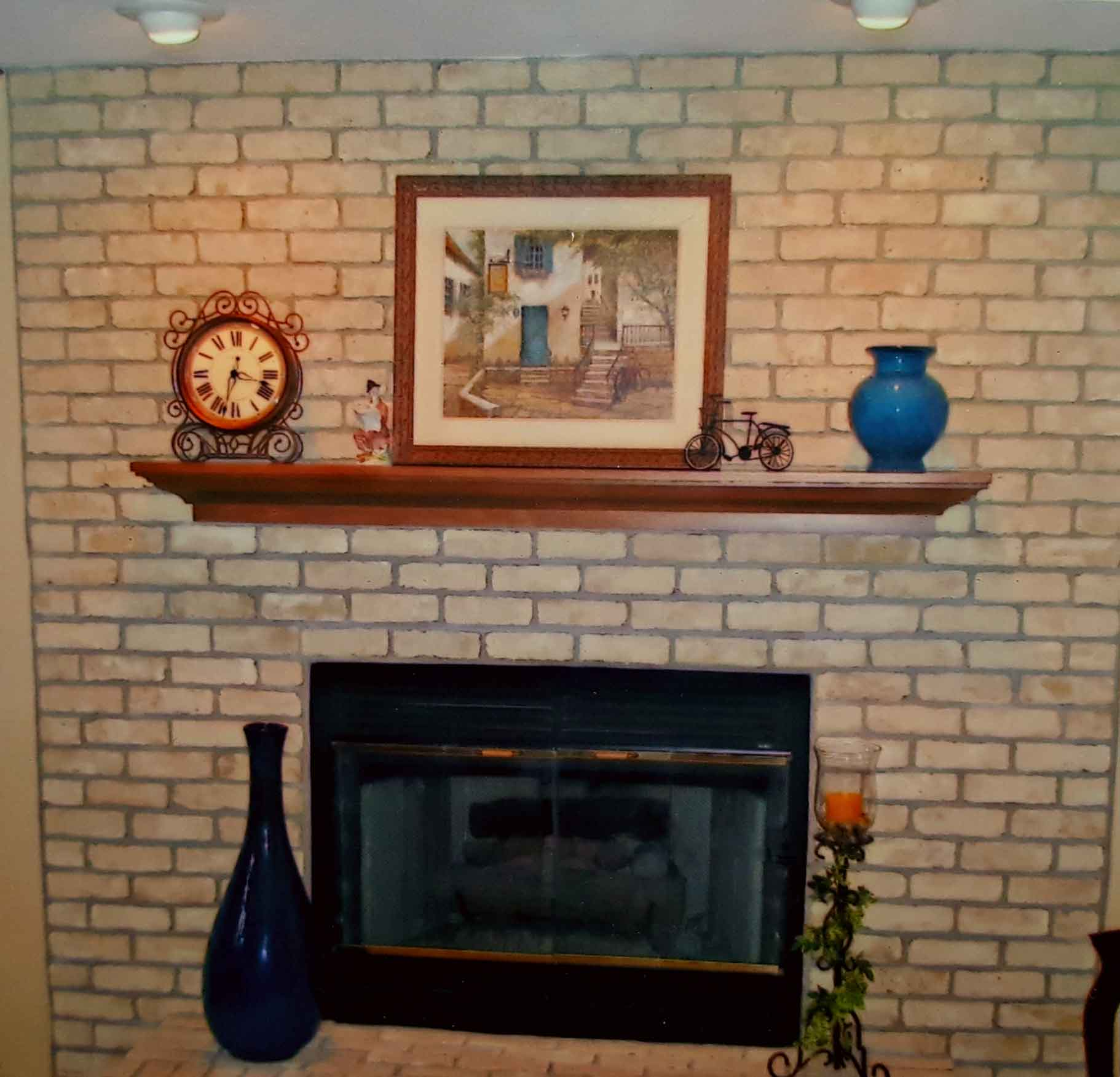 interior innovations fireplace painting south east wisconsin